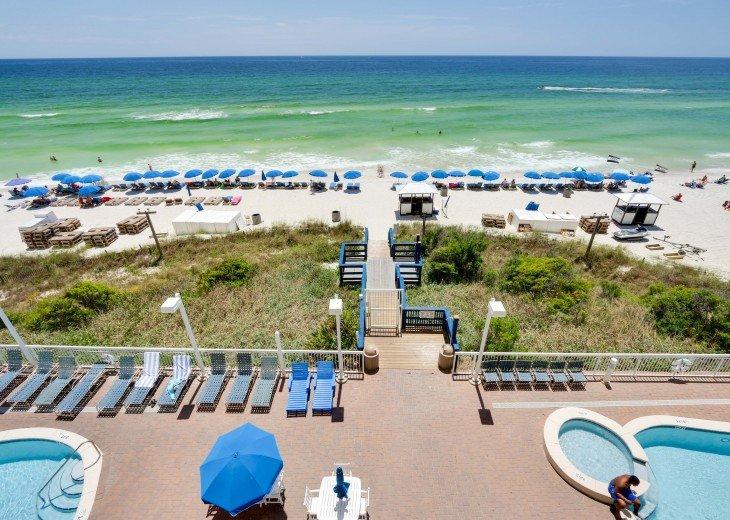 Seychelles 405 Vacation Rental, Panama City Beach, w/beach service & free Wi-Fi #14