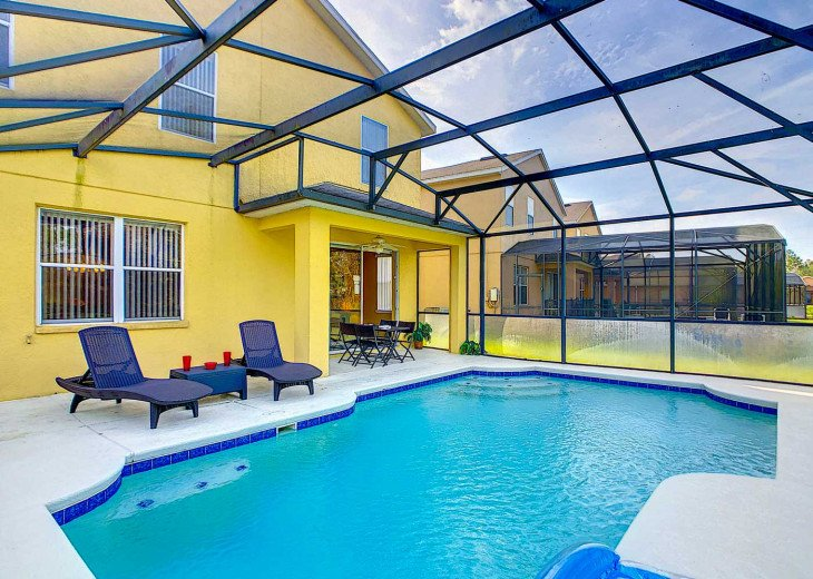 FANCY FLORIDA VILLA WITH PRIVATE AMAZING POOL #11