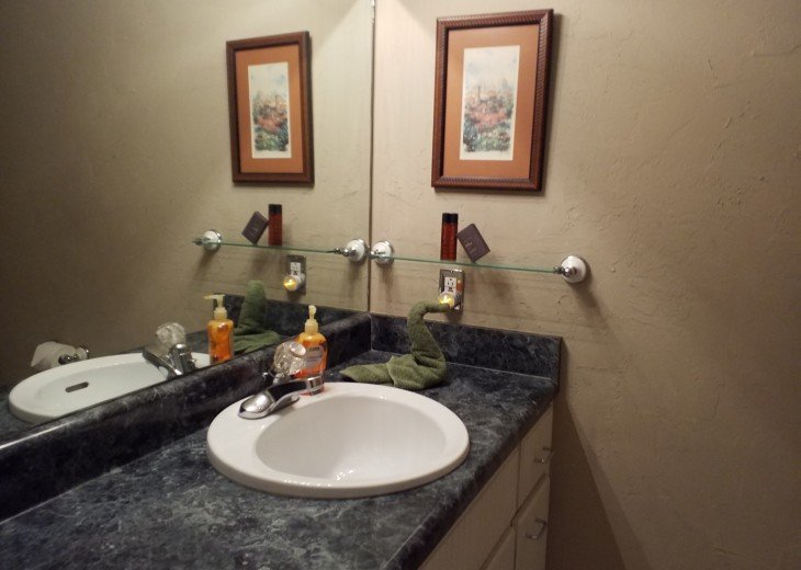 2nd bath for 2nd & 3rd bedroom across from laundry room...