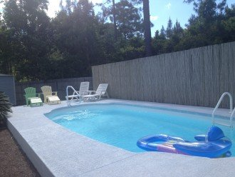 Private year round in-ground pool!