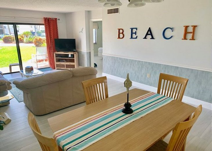 Fun Beach Style in Cape Canaveral Florida just steps from the pool and beach! #1