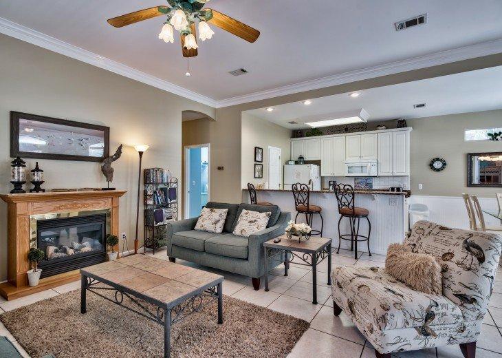 Magnolia Manor - 3 bedroom home in Emerald Shores of Destin Florida #5