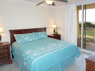 Beach front Master Suite, private bath and patio access