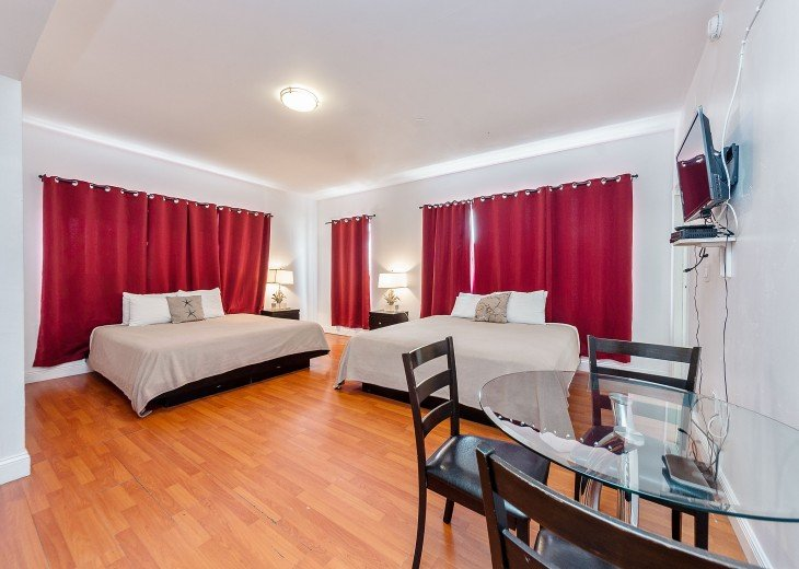 Large Master Bedroom with 2 King Beds
