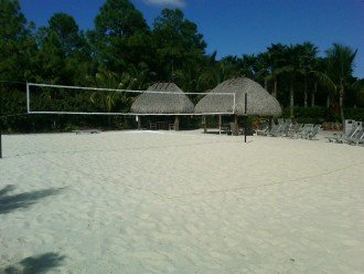 Beach Volleyball Court in Ole` Pool Area