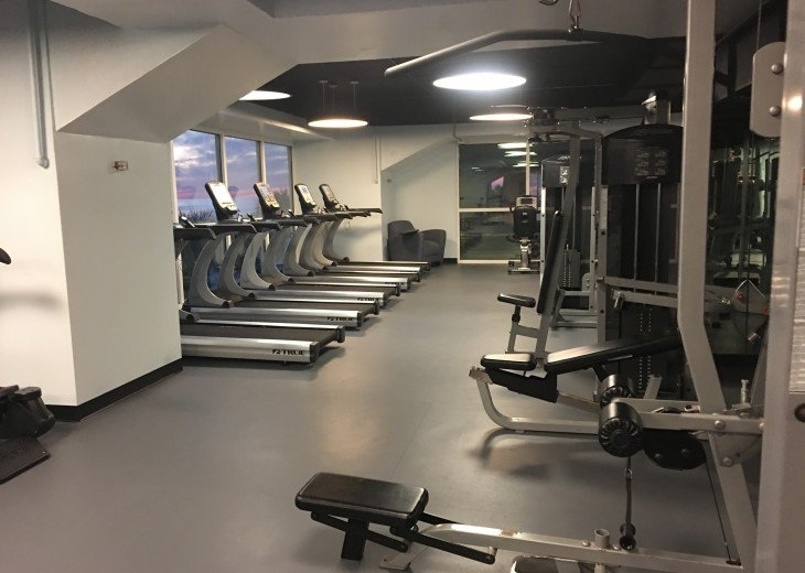 State of the Art, Exercise Room