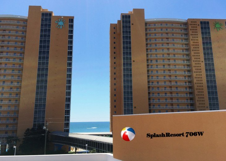 Beachfront/FREE beach chairs/Clean/Wifi/Family Friendly/ Panama City Beach 2b/2b #25