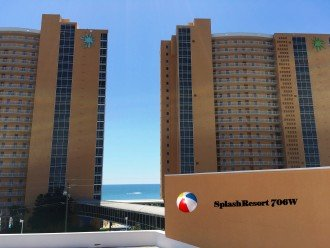 Beachfront/FREE beach chairs/Clean/Wifi/Family Friendly/ Panama City Beach 2b/2b #1