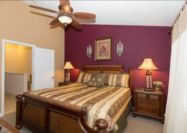 Mickey's World 1 Master Bedroom