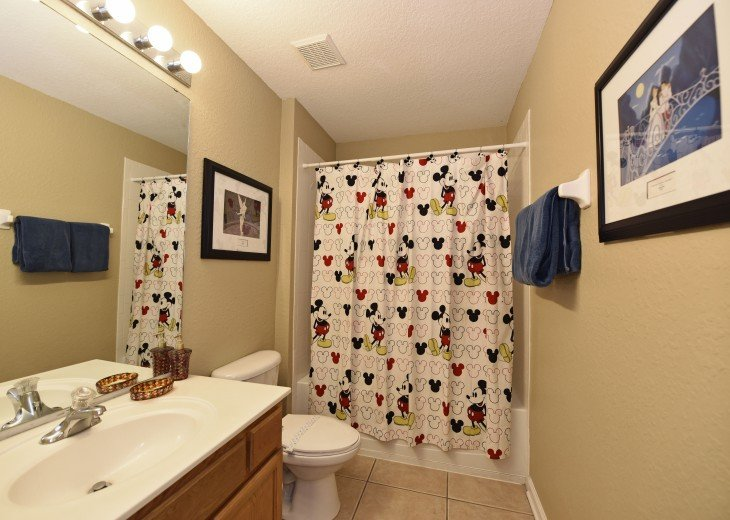 2 Miles to Disney World. 6 BR with Private Pool & Spa. Fireworks Views #20