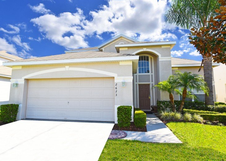 2 Miles to Disney World. 6 BR with Private Pool & Spa. Fireworks Views #3