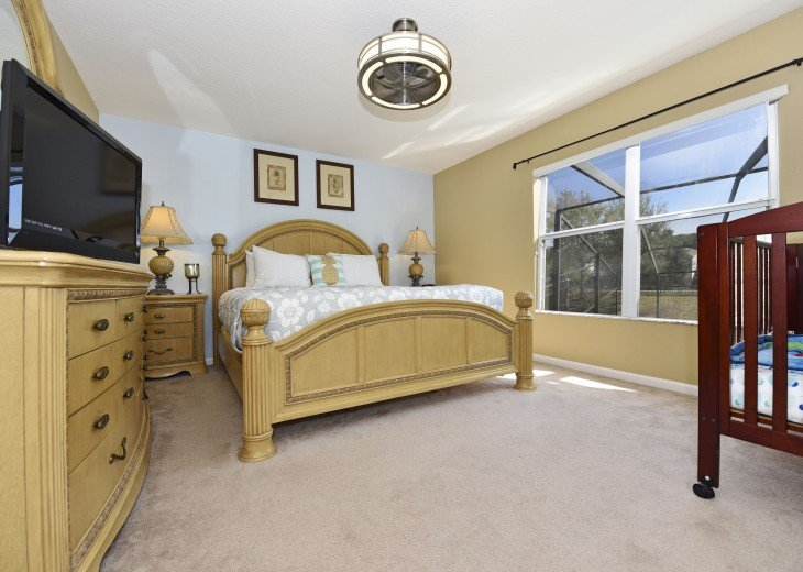 2 Miles to Disney World. 6 BR with Private Pool & Spa. Fireworks Views #16