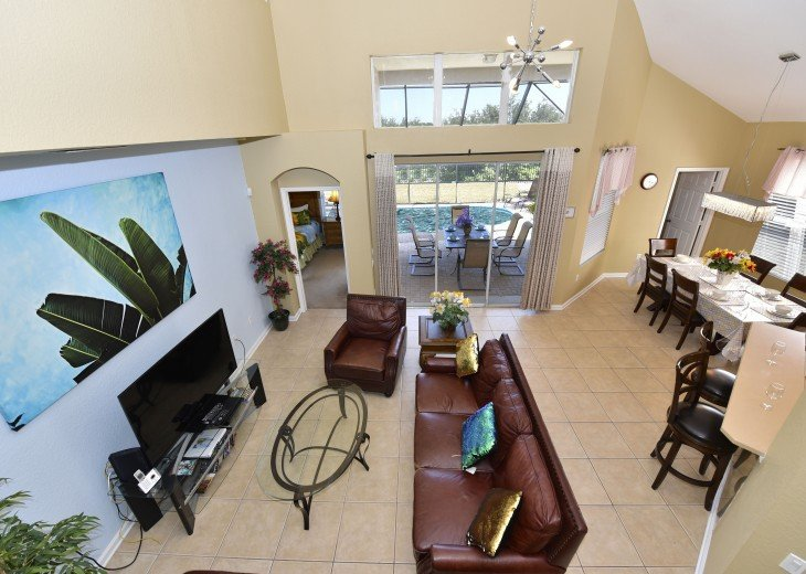 2 Miles to Disney World. 6 BR with Private Pool & Spa. Fireworks Views #10