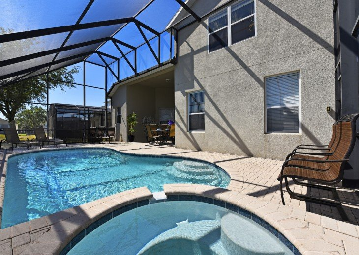 2 Miles to Disney World. 6 BR with Private Pool & Spa. Fireworks Views #6