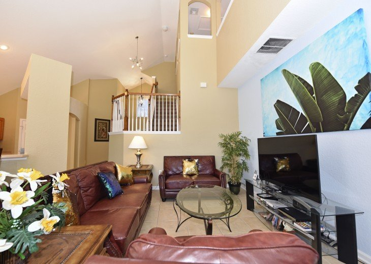 2 Miles to Disney World. 6 BR with Private Pool & Spa. Fireworks Views #11