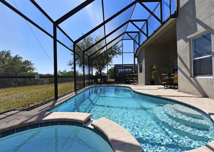 2 Miles to Disney World. 6 BR with Private Pool & Spa. Fireworks Views #7