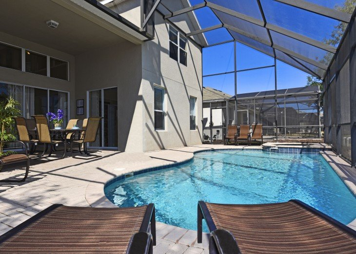 2 Miles to Disney World. 6 BR with Private Pool & Spa. Fireworks Views #5