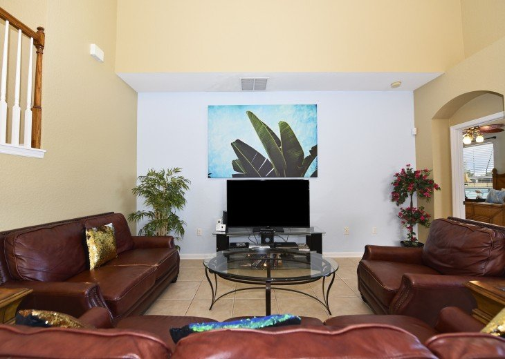 2 Miles to Disney World. 6 BR with Private Pool & Spa. Fireworks Views #8