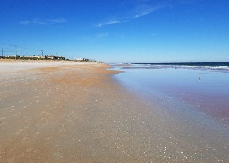 Ocean Beach at Low Tide Walking North