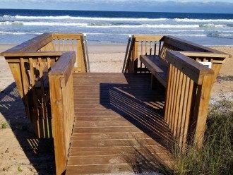 Private Access to Beach