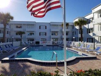 Pool Courtyard View