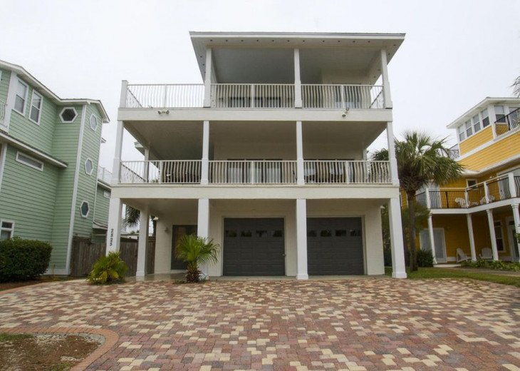 WOW! Room for all. Destin Pearl - 8bd/7ba Large Priv Pool/Spa/Gulf View-Golfcart #4