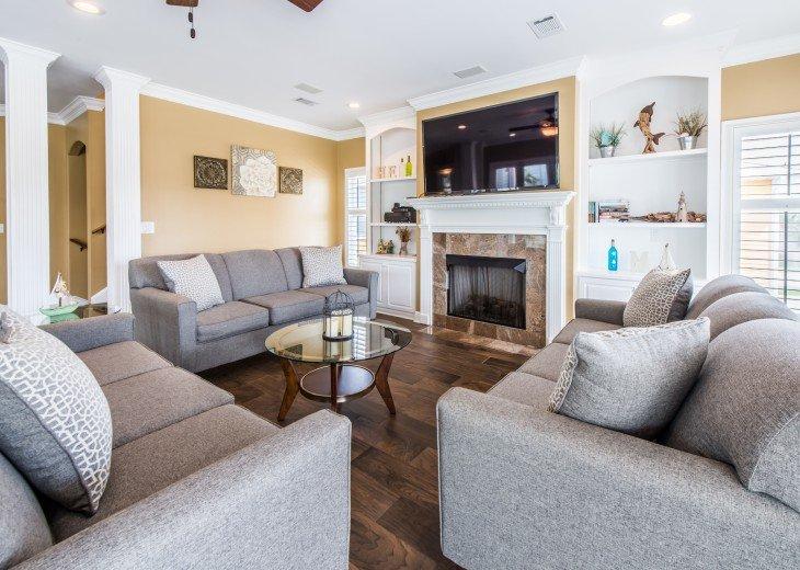 Living area - Destin vacation home