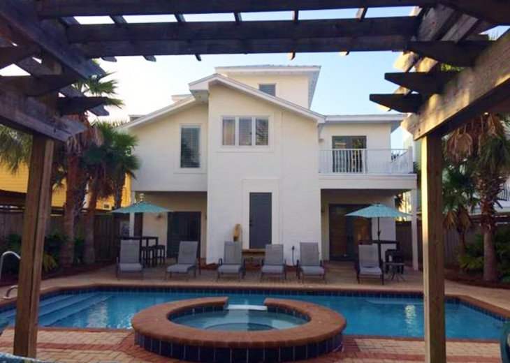 WOW! Room for all. Destin Pearl - 8bd/7ba Large Priv Pool/Spa/Gulf View-Golfcart #5