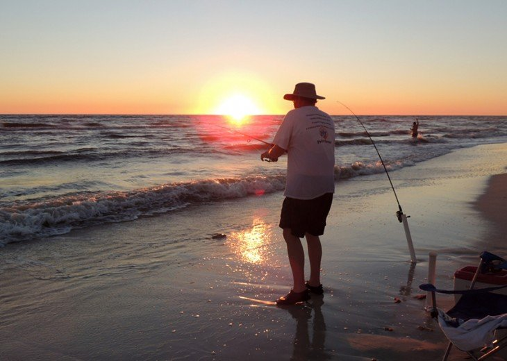 Fall is a great time when the crowds are down. Pefect for shore fishing.