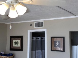 Had new ceiling fans hardwired to swith in LR and BR in 2019