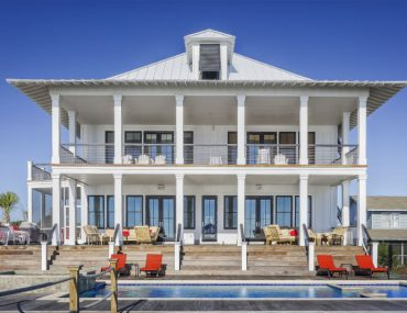 large Florida beach home rental property